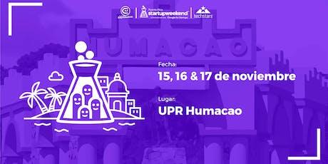 Techstars Startup Weekend | HUMACAO tickets