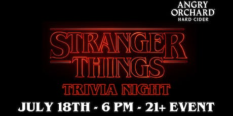 Angry Orchard Trivia Night tickets