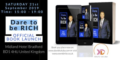 Dare To Be RICH Book Launch