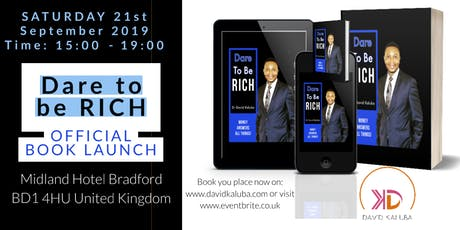 Dare To Be RICH Book Launch  tickets