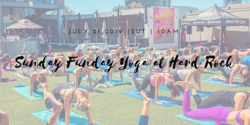 Sunday Funday Silent Disco Yoga | Hard Rock Hotel