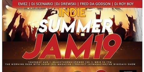 INDIE SUMMER JAM 2019 tickets