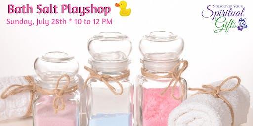 Bath Salt Playshop
