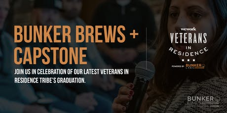 Austin  Capstone WeWork Veterans in Residence Powered by Bunker Labs tickets
