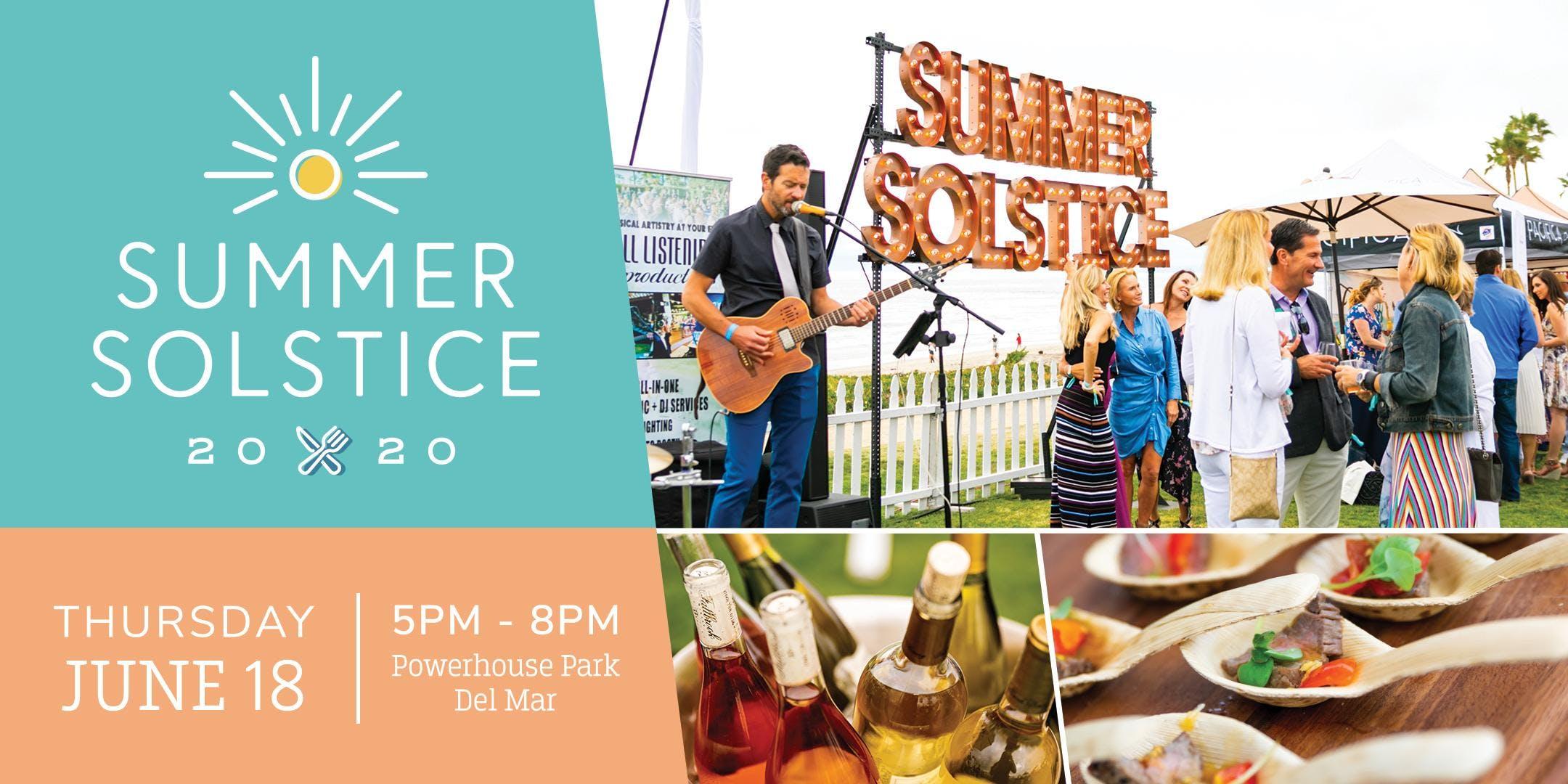 Summer Solstice 2020.Del Mar Summer Solstice 2020