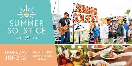 Del Mar Summer Solstice 2020 tickets