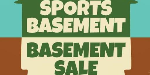 SB Sunnyvale Basement Basement Sale!