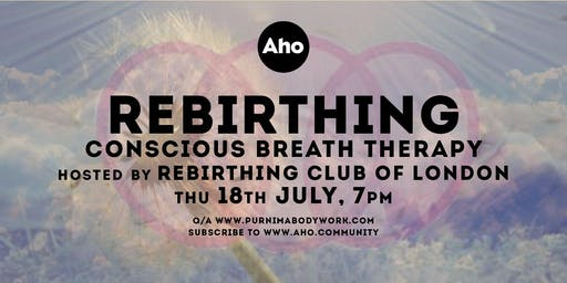 Rebirthing Club of London's sessions at Hackney Wick - Breathwork!