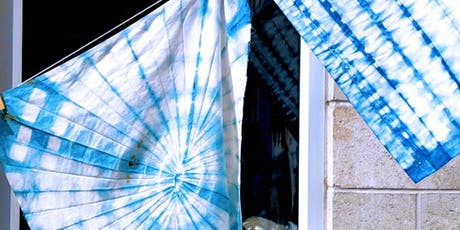 Workshop: Organic Indigo Dyeing & Shibori tickets