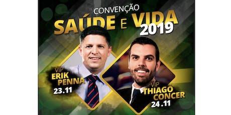 Convenção Saúde e Vida 2019 ingressos