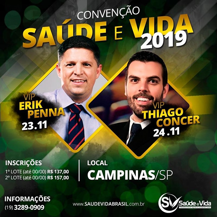 Imagem do evento Convenção Saúde e Vida 2019