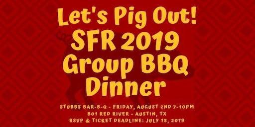 SFR Group BBQ Dinner @ Stubbs Bar-B-Q