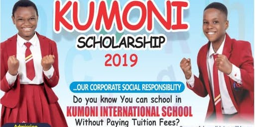 Kumoni International Schools Scholarship Exams