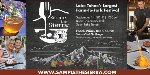 Sample the Sierra 2019