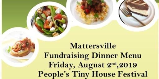 Mattersville Fundraising Dinner