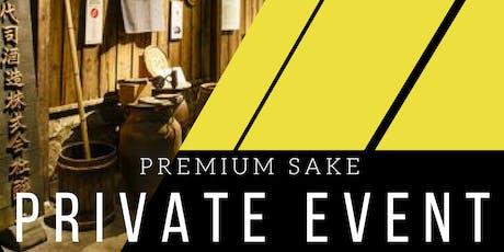 Premium Sake Tasting and Seminar ($30.00) tickets