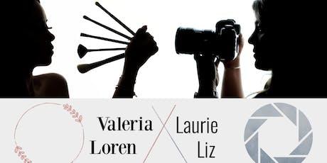 Taller de tipos de maquillajes y fotografía tickets