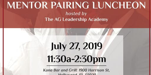 Mentor Pairing Luncheon - AG Leadership Academy