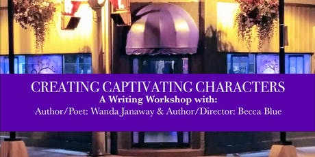 Creating Captivating Characters: A Writing Workshop tickets