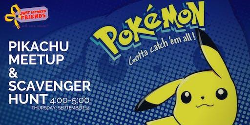 Gotta Catch 'Em All • Pikachu Meet & Greet Scavenger Hunt • MtVernon Fall19