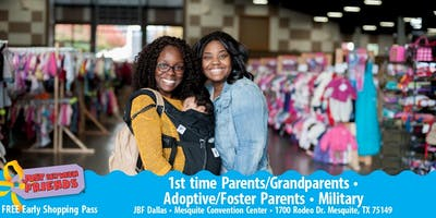 JBF Dallas/Mesquite: FALL 2019 First time Parent/Grand/Foster/Adoptive/Military