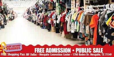 JBF Dallas/Mesquite: FALL 2019 • PUBLIC SALE • FREE ADMISSION PASS