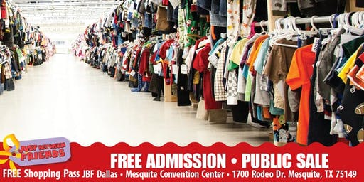 JBF Dallas/Mesquite: FALL 2019 • PUBLIC SALE • FREE ADMISSION PASS