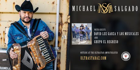 MICHAEL SALGADO - TICKETS ARE ON SALE NOW! tickets