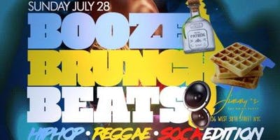 Brunch, Booze & Beats Brunch & Day Party