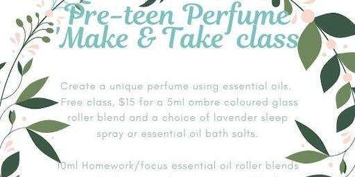 Pre-teen Perfume 'Make & Take' class