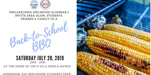 2019 SpelHouse Back-to-School BBQ