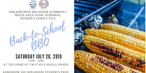 2019 SpelHouse Back-to-School BBQ