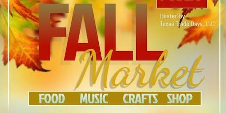 Fall Market at Kingwood Trade Days tickets