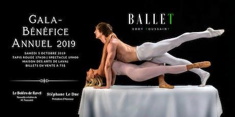 Gala-Bénéfice Annuel 2019 du Ballet Eddy Toussaint - 3ième Édition tickets