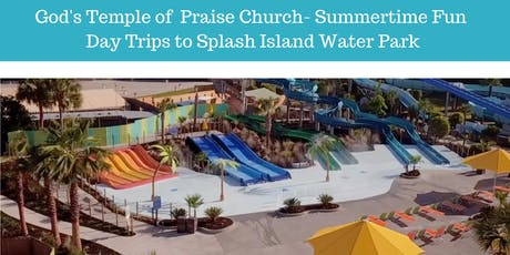 Summertime Fun Bus Trip from Savannah to Splash Island Water Park, Valdosta tickets