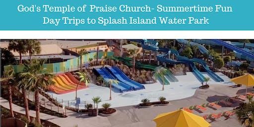 Summertime Fun Bus Trip from Savannah to Splash Island Water Park, Valdosta