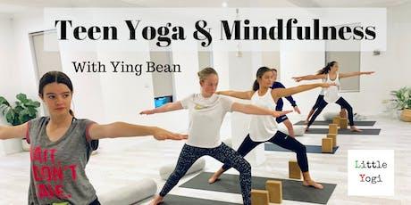 Teen Yoga & Mindfulness (10 weeks) tickets