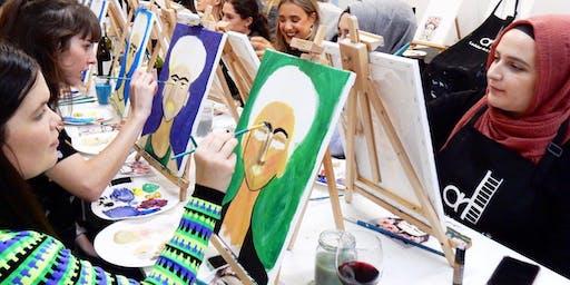 'Frida Style' Sip & Paint Workshop