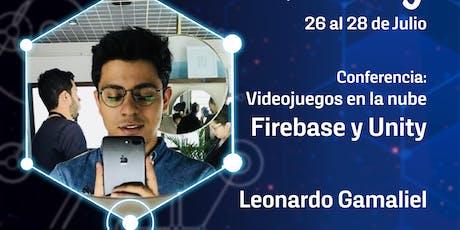 Videojuegos en la nube Firebase y Unity boletos