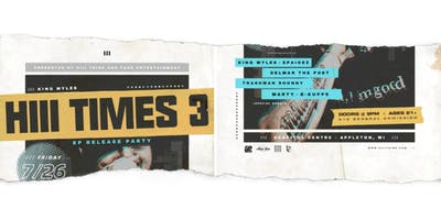 Hiii Times 3 EP Release Party