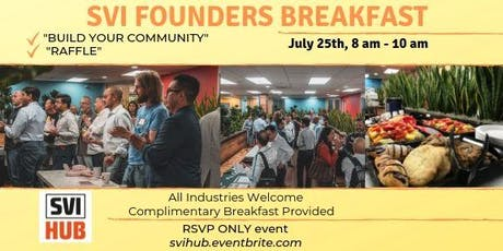 SVI Founders Breakfast tickets
