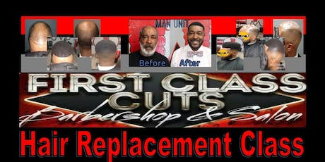 WrightTheBarber Million Dollar Hands Hair Replacement Class ( Hands On ) tickets