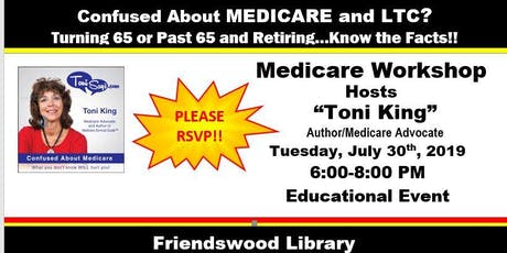 Medicare Workshop-Friendswood Library tickets