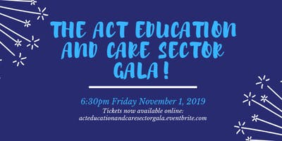 The ACT Education and Care Sector Gala