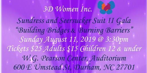 3D Women Inc Sundress & Seersucker Suit II Gala