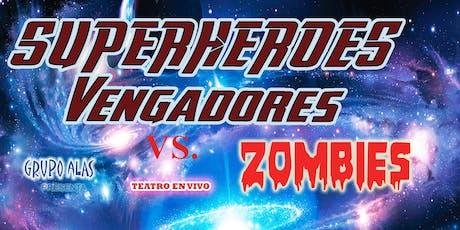 RESISTENCIA - SUPERHEROES VENGADORES VS ZOMBIES entradas