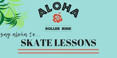 Aloha Roller Rink: Skate Lessons