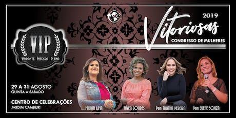 Congresso Vitoriosas 2019 ingressos