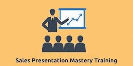 Sales Presentation Mastery 2 Days Training in Washington, DC tickets