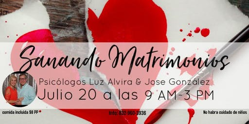Conferencia Sanando Matrimonios